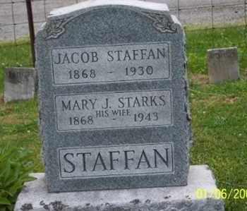 STAFFAN, JACOB - Ross County, Ohio | JACOB STAFFAN - Ohio Gravestone Photos