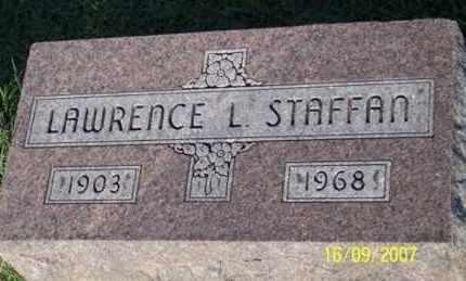 STAFFAN, LAWRENCE L. - Ross County, Ohio | LAWRENCE L. STAFFAN - Ohio Gravestone Photos