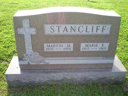 STANCLIFF, MARION M. - Ross County, Ohio | MARION M. STANCLIFF - Ohio Gravestone Photos