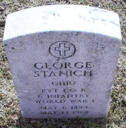 STANICH, GEORGE - Ross County, Ohio | GEORGE STANICH - Ohio Gravestone Photos
