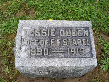 STAPEL, TESSIE - Ross County, Ohio | TESSIE STAPEL - Ohio Gravestone Photos