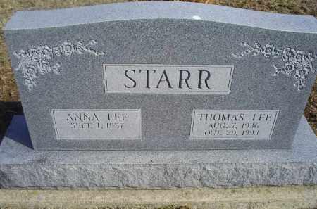 STARR, THOMAS LEE - Ross County, Ohio | THOMAS LEE STARR - Ohio Gravestone Photos