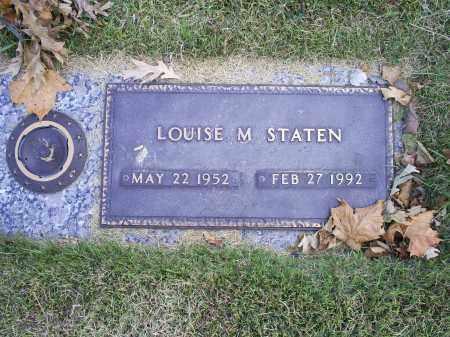 STATEN, LOUISE M. - Ross County, Ohio   LOUISE M. STATEN - Ohio Gravestone Photos