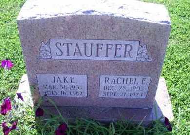 STAUFFER, RAHEL E. - Ross County, Ohio | RAHEL E. STAUFFER - Ohio Gravestone Photos