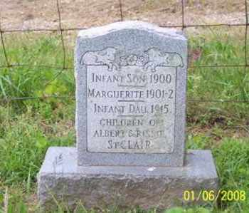 ST. CLAIR, INFANT DAUGHTER - Ross County, Ohio | INFANT DAUGHTER ST. CLAIR - Ohio Gravestone Photos