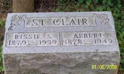 ST. CLAIR, ALBERT - Ross County, Ohio   ALBERT ST. CLAIR - Ohio Gravestone Photos