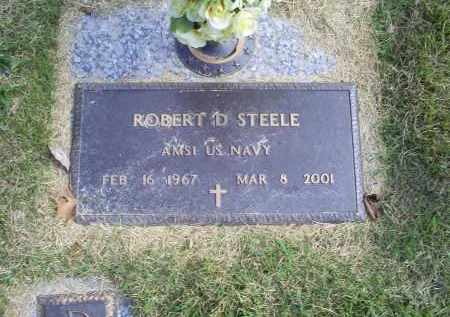 STEELE, ROBERT D. - Ross County, Ohio   ROBERT D. STEELE - Ohio Gravestone Photos