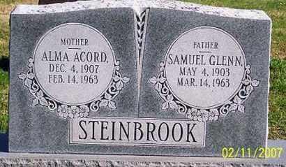 STEINBROOK, ALMA - Ross County, Ohio | ALMA STEINBROOK - Ohio Gravestone Photos
