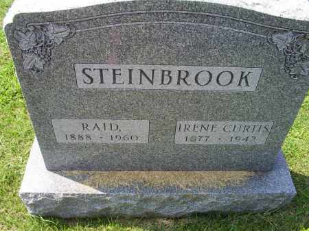 STEINBROOK, RAID - Ross County, Ohio | RAID STEINBROOK - Ohio Gravestone Photos