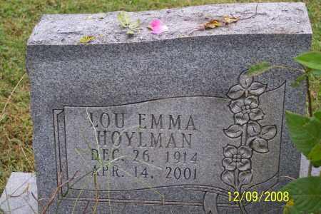 HOYLMAN STEINER, LOU EMMA - Ross County, Ohio   LOU EMMA HOYLMAN STEINER - Ohio Gravestone Photos