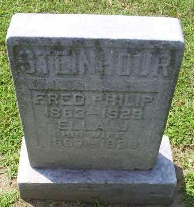 STEINHOUR, ELLA J. - Ross County, Ohio | ELLA J. STEINHOUR - Ohio Gravestone Photos