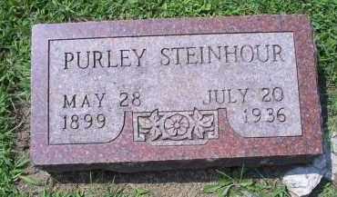 STEINHOUR, PURLEY - Ross County, Ohio | PURLEY STEINHOUR - Ohio Gravestone Photos