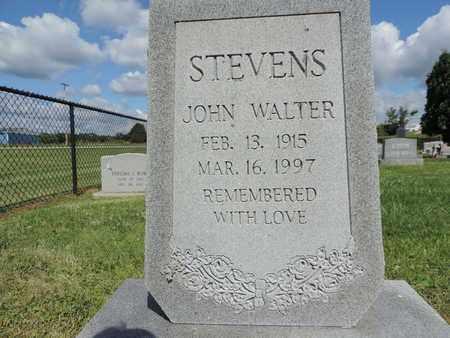 STEVENS, JOHN WALTER - Ross County, Ohio   JOHN WALTER STEVENS - Ohio Gravestone Photos
