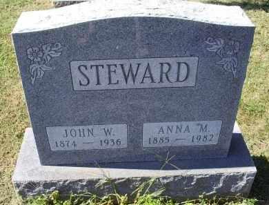 STEWARD, ANNA M. - Ross County, Ohio   ANNA M. STEWARD - Ohio Gravestone Photos