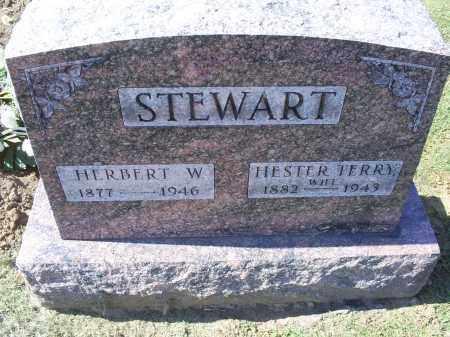 TERRY STEWART, HESTER - Ross County, Ohio | HESTER TERRY STEWART - Ohio Gravestone Photos