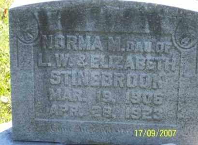 STINEBROOK, NORMA M. - Ross County, Ohio   NORMA M. STINEBROOK - Ohio Gravestone Photos