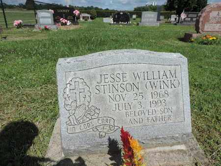 STINSON, JESSE WILLIAM - Ross County, Ohio | JESSE WILLIAM STINSON - Ohio Gravestone Photos
