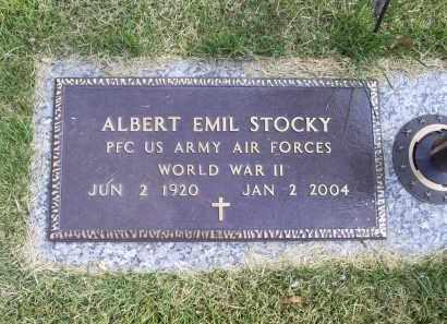 STOCKY, ALBERT EMIL - Ross County, Ohio | ALBERT EMIL STOCKY - Ohio Gravestone Photos