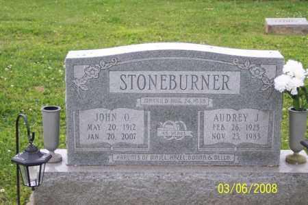 STONEBURNER, AUDREY J. - Ross County, Ohio   AUDREY J. STONEBURNER - Ohio Gravestone Photos