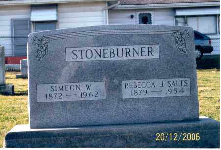 STONEBURNER, REBECCA J. - Ross County, Ohio | REBECCA J. STONEBURNER - Ohio Gravestone Photos
