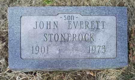 STONEROCK, JOHN EVERETT - Ross County, Ohio | JOHN EVERETT STONEROCK - Ohio Gravestone Photos