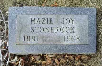 STONEROCK, MAZIE JOY - Ross County, Ohio   MAZIE JOY STONEROCK - Ohio Gravestone Photos
