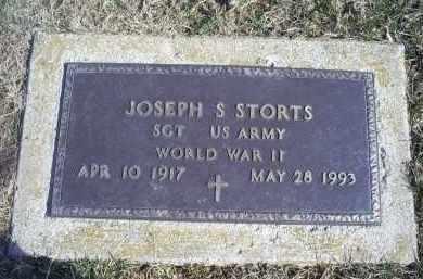 STORTS, JOSEPH S. - Ross County, Ohio | JOSEPH S. STORTS - Ohio Gravestone Photos
