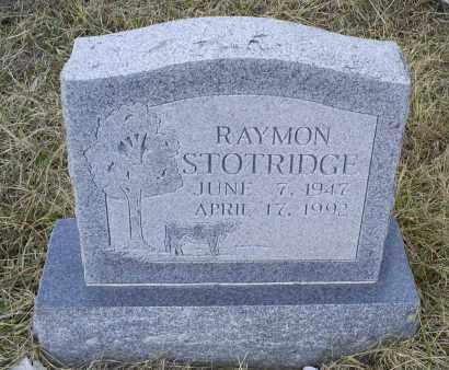 STOTRIDGE, RAYMON - Ross County, Ohio   RAYMON STOTRIDGE - Ohio Gravestone Photos