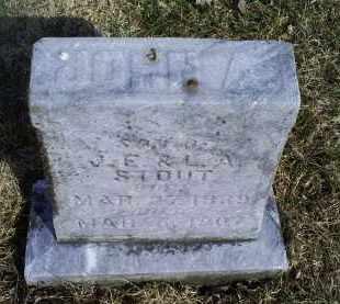 STOUT, JOHN A. - Ross County, Ohio   JOHN A. STOUT - Ohio Gravestone Photos