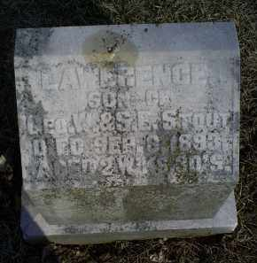 STOUT, LAWRENCE - Ross County, Ohio   LAWRENCE STOUT - Ohio Gravestone Photos