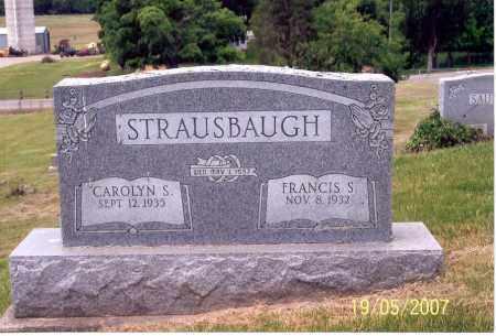 STRAUSBAUGH, CAROLYN S. - Ross County, Ohio | CAROLYN S. STRAUSBAUGH - Ohio Gravestone Photos