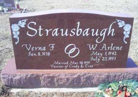 STRAUSBAUGH, W. ARLENE - Ross County, Ohio   W. ARLENE STRAUSBAUGH - Ohio Gravestone Photos