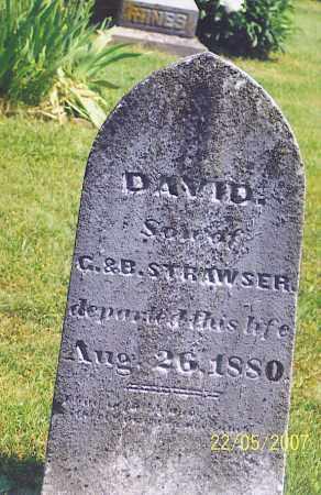 STRAWSER, DAVID - Ross County, Ohio | DAVID STRAWSER - Ohio Gravestone Photos