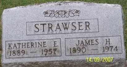 STRAWSER, KATHERINE E. - Ross County, Ohio | KATHERINE E. STRAWSER - Ohio Gravestone Photos