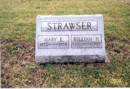 STRAWSER, MARY E. - Ross County, Ohio | MARY E. STRAWSER - Ohio Gravestone Photos