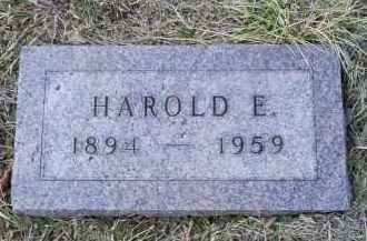 STREITENBERGER, HAROLD E. - Ross County, Ohio | HAROLD E. STREITENBERGER - Ohio Gravestone Photos