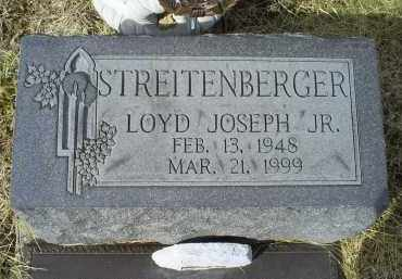 STREITENBERGER, LOYD JOSEPH JR. - Ross County, Ohio   LOYD JOSEPH JR. STREITENBERGER - Ohio Gravestone Photos
