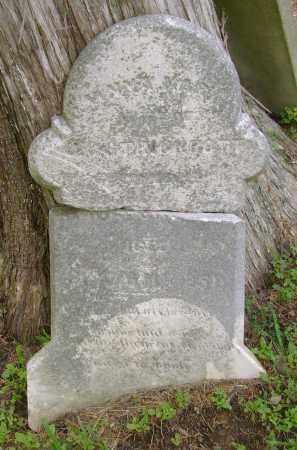 STRAUSS STRICKROTT, ANNA MARY - Ross County, Ohio   ANNA MARY STRAUSS STRICKROTT - Ohio Gravestone Photos