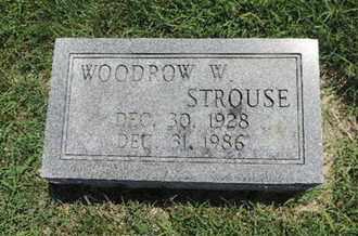 STROUSE, WOODROW W - Ross County, Ohio | WOODROW W STROUSE - Ohio Gravestone Photos