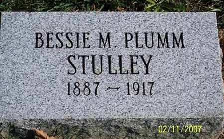 PLUMM STULLEY, BESSIE M. - Ross County, Ohio | BESSIE M. PLUMM STULLEY - Ohio Gravestone Photos