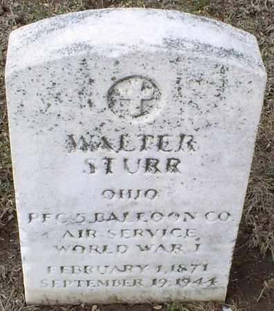 STURR, WALTER - Ross County, Ohio | WALTER STURR - Ohio Gravestone Photos