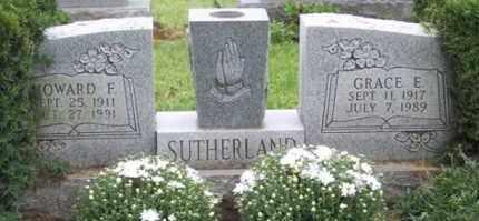 SUTHERLAND, HOWARD F. - Ross County, Ohio   HOWARD F. SUTHERLAND - Ohio Gravestone Photos