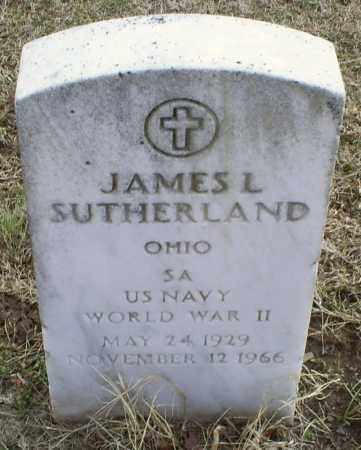 SUTHERLAND, JAMES L. - Ross County, Ohio | JAMES L. SUTHERLAND - Ohio Gravestone Photos