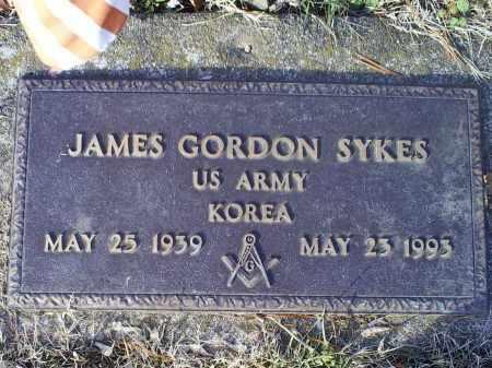 SYKES, JAMES GORDON - Ross County, Ohio | JAMES GORDON SYKES - Ohio Gravestone Photos
