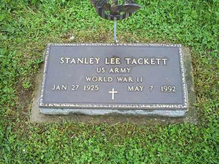 TACKETT, STANLEY LEE - Ross County, Ohio | STANLEY LEE TACKETT - Ohio Gravestone Photos