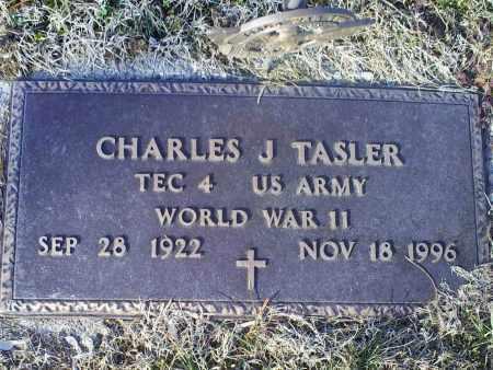 TASLER, CHARLES J. - Ross County, Ohio   CHARLES J. TASLER - Ohio Gravestone Photos