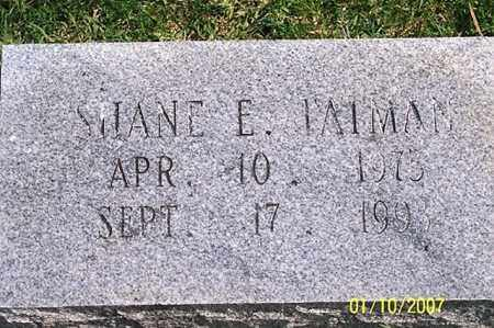 TATMAN, SHANE E. - Ross County, Ohio | SHANE E. TATMAN - Ohio Gravestone Photos