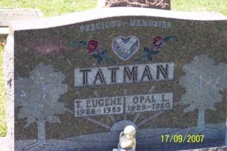 TATMAN, OPAL L. - Ross County, Ohio | OPAL L. TATMAN - Ohio Gravestone Photos