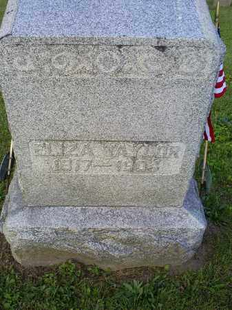 TAYLOR, ELIZA - Ross County, Ohio | ELIZA TAYLOR - Ohio Gravestone Photos