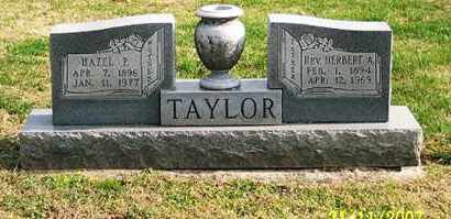 TAYLOR, HAZEL P. - Ross County, Ohio   HAZEL P. TAYLOR - Ohio Gravestone Photos